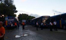 Todos os ônibus estão parados em Aracaju