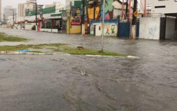 Meteorologia prevê mais chuva nas próximas 24 horas em Aracaju