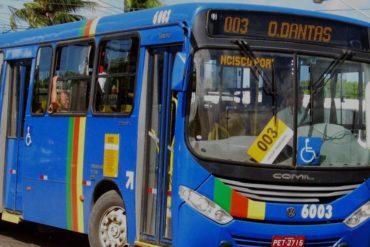 Com facas, menores realizam arrastão em ônibus do transporte coletivo